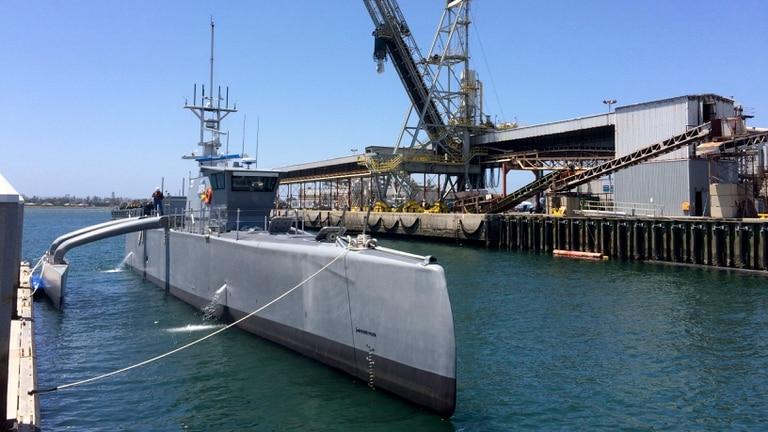 El Sea Hunter es un barco experimental de funcionamiento autónomo; aunque llevará tripulación, servirá para comprobar cuánto puede navegar por sí solo