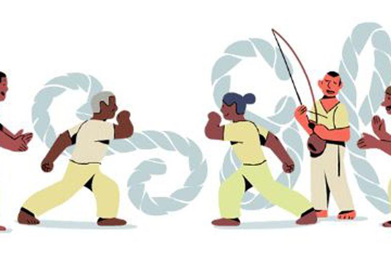 El doodle que conmemora al brasileño
