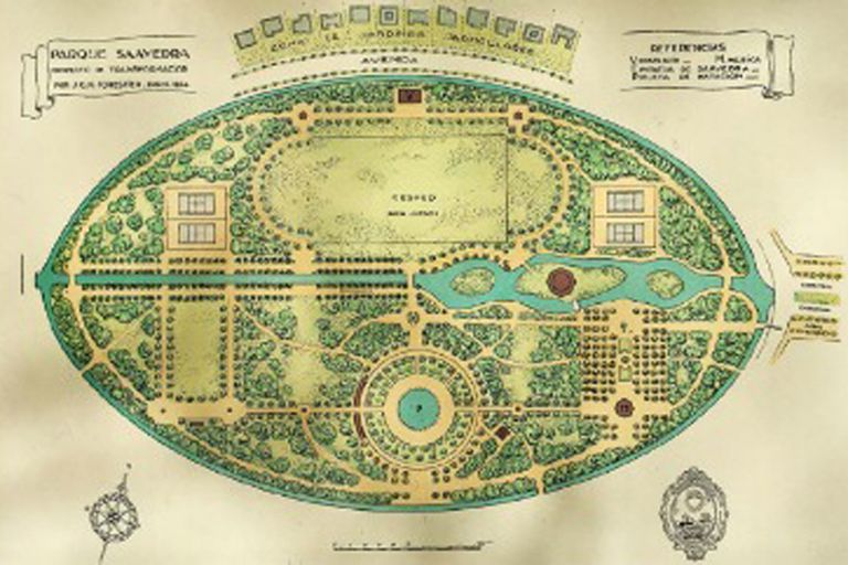 ≪Little Venice≫: El Parque Saavedra en 1924