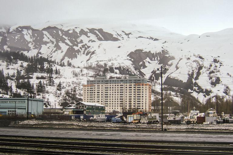 Begich Towers, Whittier, Alaska