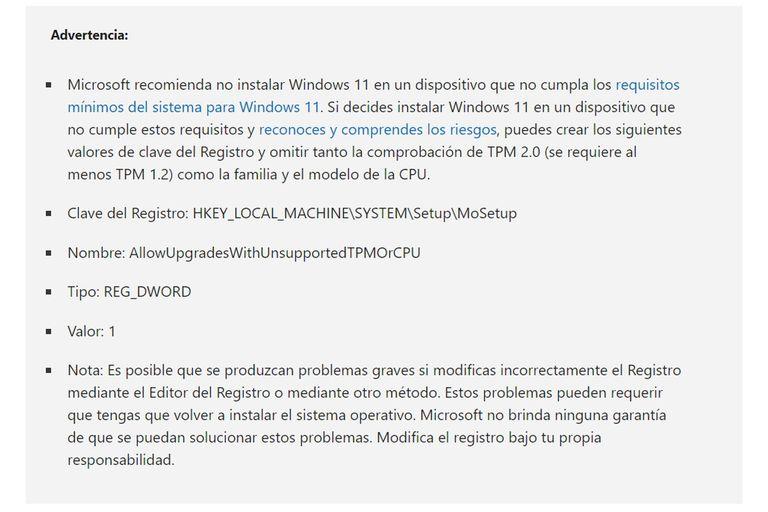 La advertencia de Microsoft para avanzar con la instalación de Windows 11 en computadoras añejas; no todos los usuarios deberán hacerlo