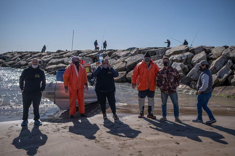 Después de 30 años, este grupo de pescadores logró tener habilitado su trabajo de manera legal