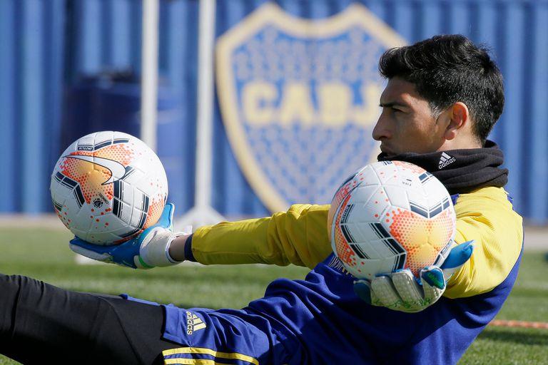 Esteban Andrada sufrió una distensión del músculo sóleo izquierdo.