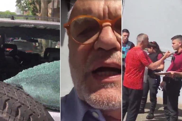 """Juan Leyrado fue agredido por un hombre que afirmaba ser un """"agente de Interpol"""""""