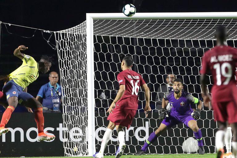 Copa América: Colombia le ganó a Qatar y al VAR y pasó a los cuartos de final