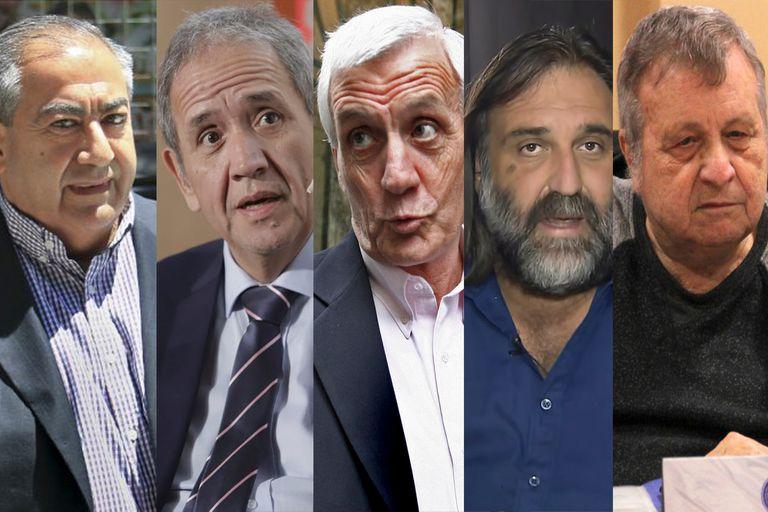 Héctor Daer, Sergio Palazzo, Antonio Caló, Roberto Baradel y Amadeo Genta son apenas cinco de los dirigentes sindicales que deberán renovar su poder en 2021; además, el recambio estará condicionado a la elección en la CGT