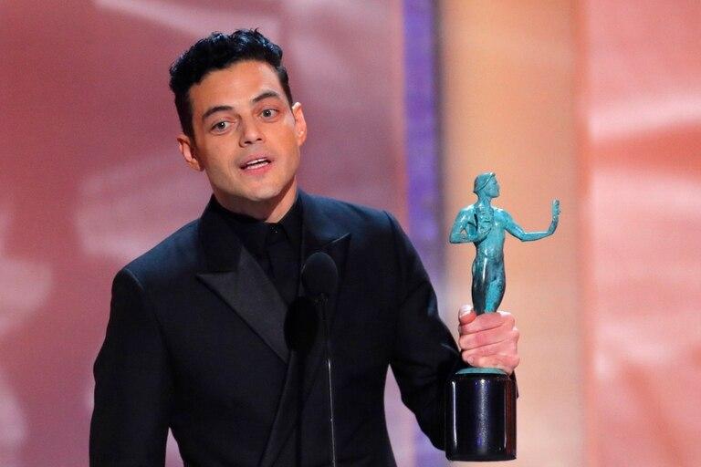 Otro favorito al Oscar ratificado: Rami Malek sigue sumando estatuillas por su composición de Freddy Mercury