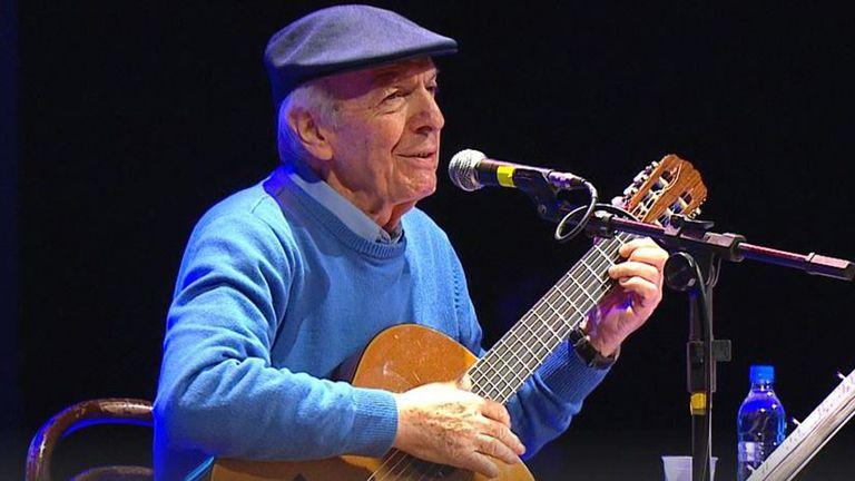 Murió el cantautor urguayo Daniel Viglietti