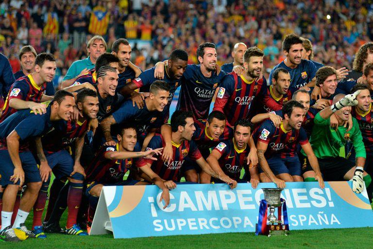 Barcelona y su último título: la Supercopa de España 2014