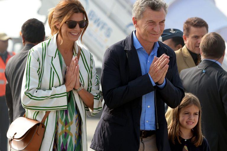 Mauricio Macri en Asia. El estilo de Juliana Awada durante los primeros días