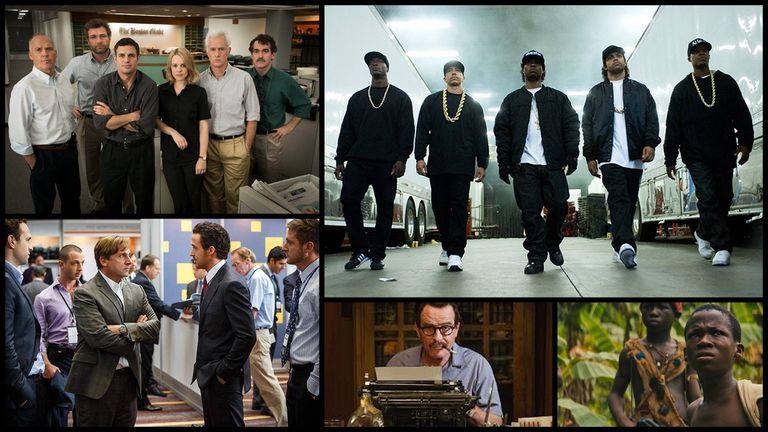 Mejor elenco en película: Spotlight, Straight Outta Compton, The Big Short, Trumbo y Beasts of No Nation