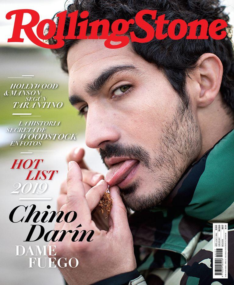 Chino Darín en la tapa de Rolling Stone de agosto
