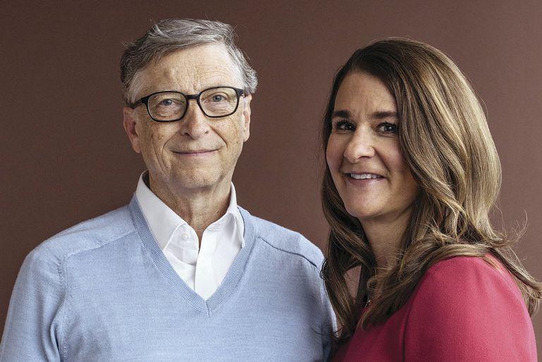 Melinda Gates y Bill Gates , Mark Zuckerberg y Priscila Chan