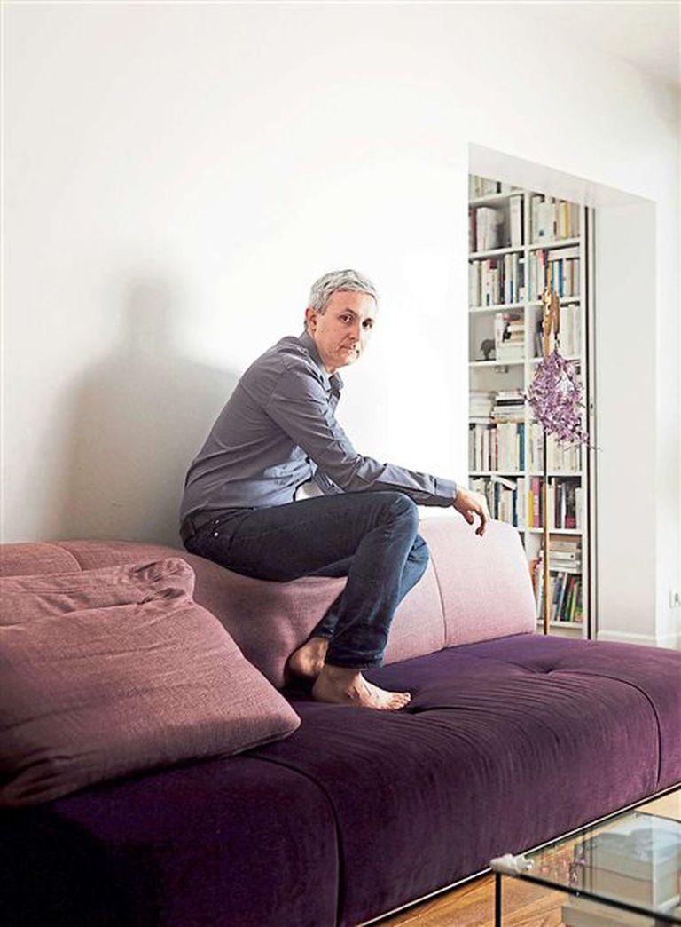 El historiador y escritor Ivan Jablonka en su casa, en 2016