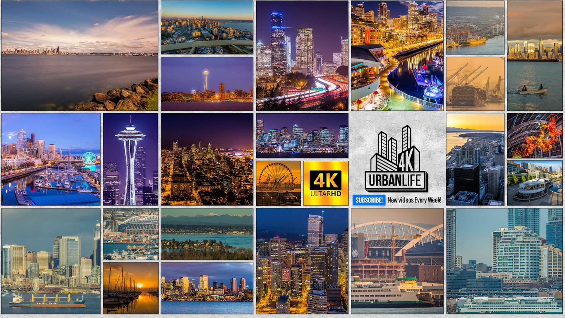 La cuenta de YouTube 4K Urban Life ofrece caminatas filmadas por diversas ciudades del mundo