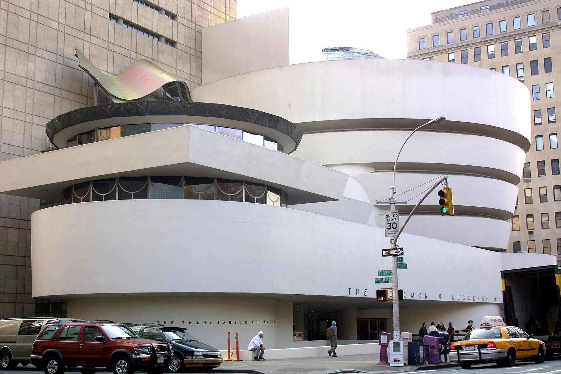 Museo Guggenheim de Nueva York, de Frank Loyd Wright