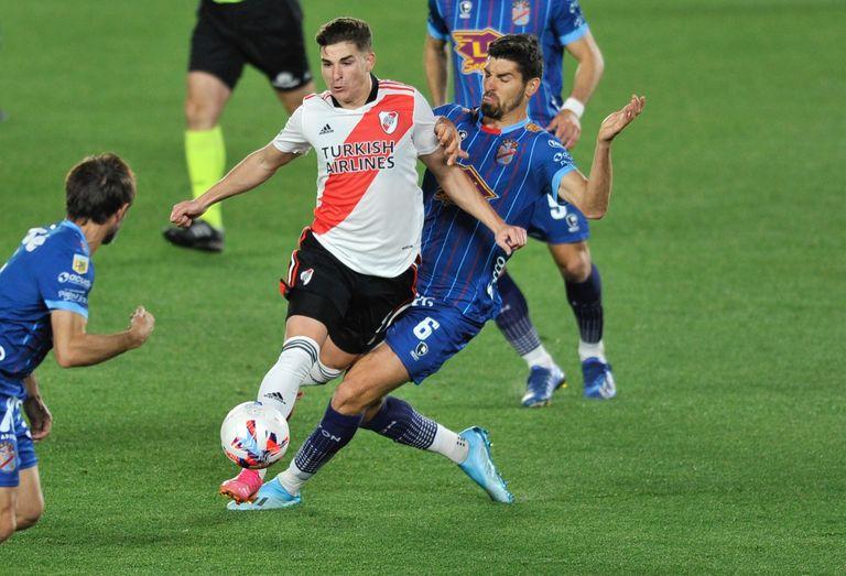 River - Arsenal: el equipo de Gallardo acorrala a los de Sarandí, pero sigue 0 a 0