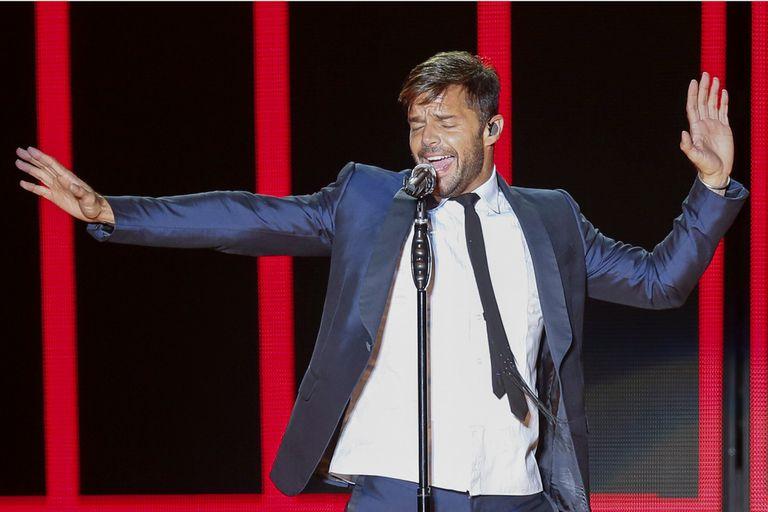 Ricky Martin llega en febrero a Movistar Arena