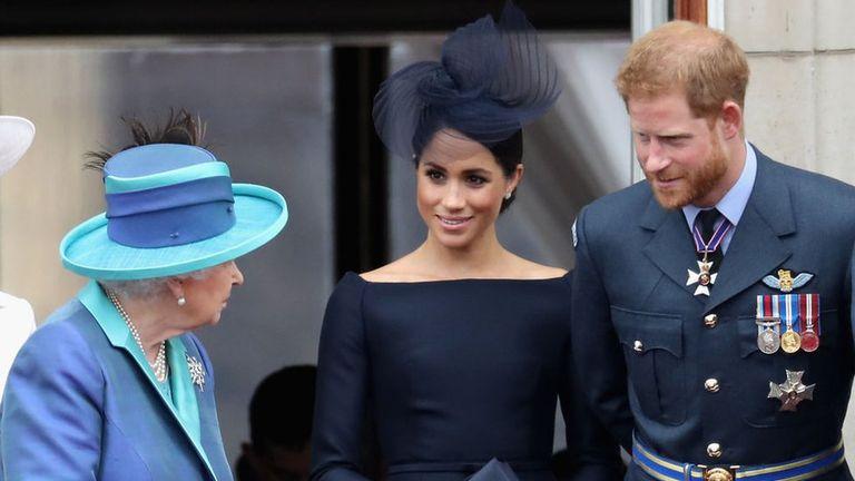 Los Sussex quieren bautizar a Lilibet en el castillo de Windsor
