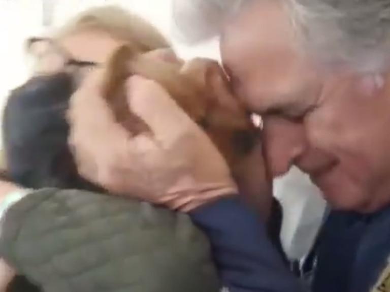 Estuvo 13 días internado: 'Pato' Fillol se reencontró con su mascota y no pudo contener las lágrimas