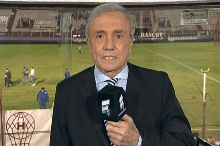 Roberto Perfumo y su etapa como comentarista de fútbol