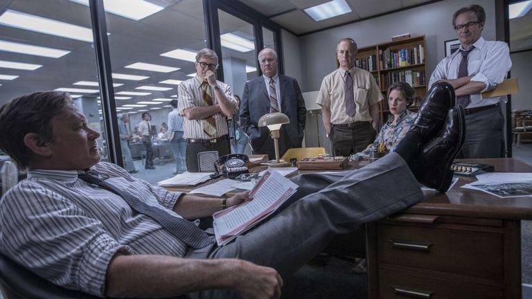 Tom Hanks como Ben Bradlee