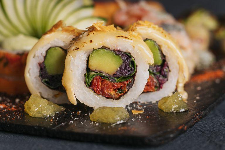 5 lugares donde los rolls vegetarianos son la estrella
