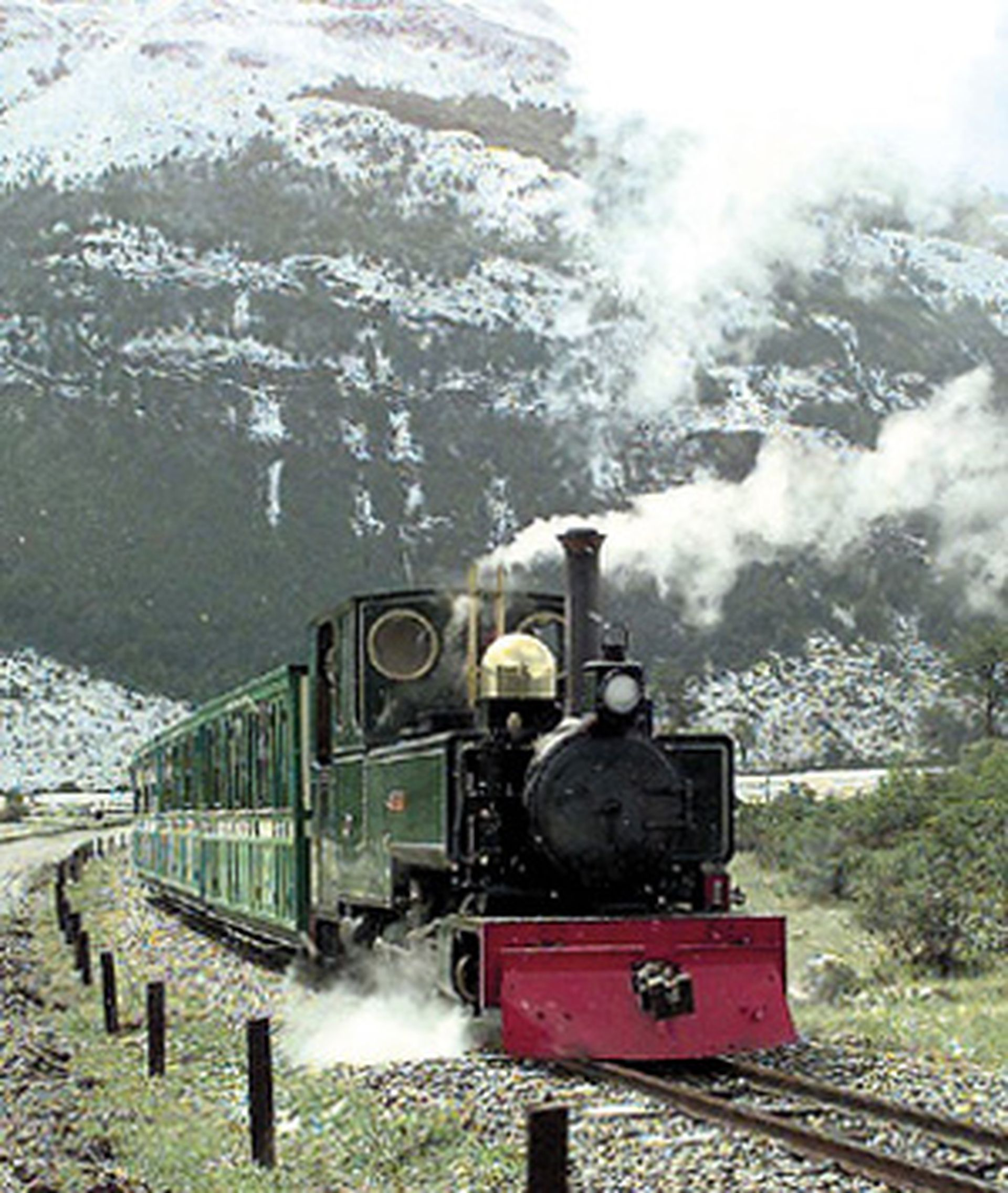 El Tren del Fin del Mundo, uno de los paseos más habituales en Ushuaia