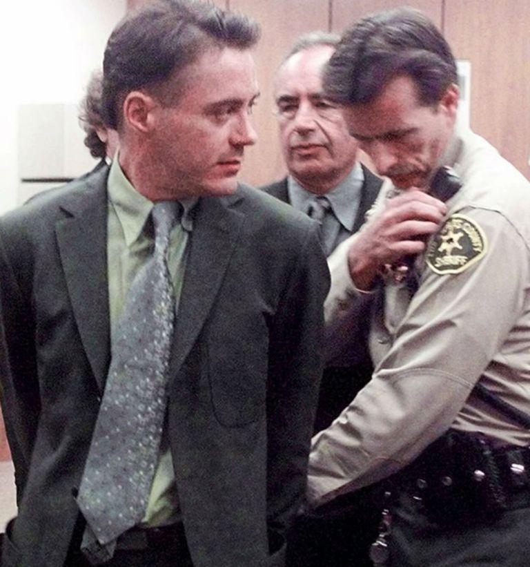El actor, en el peor momento de su vida, cuando fue arrestado por posesión de cocaína