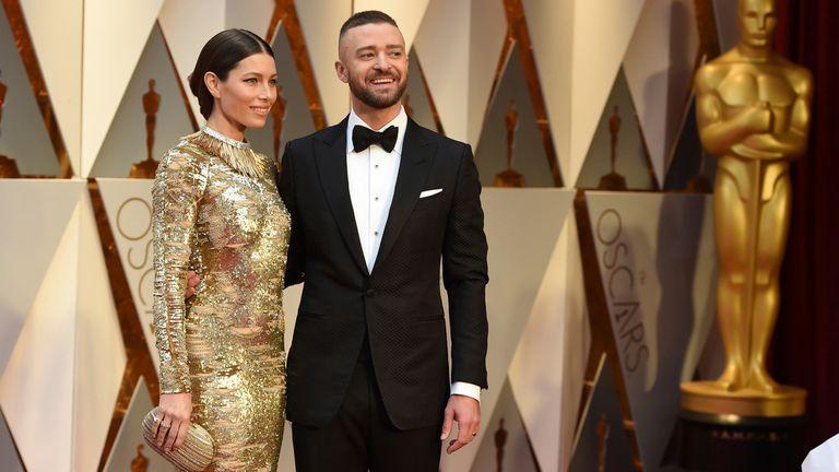 Pareja dorada: Jessica Biel y Justin Timberlake