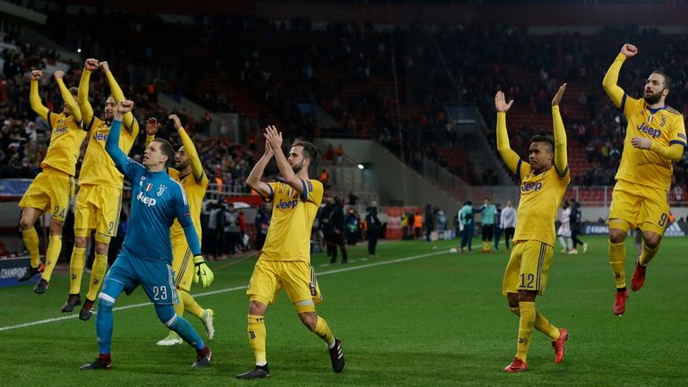 Juventus le ganó a Olympiacos