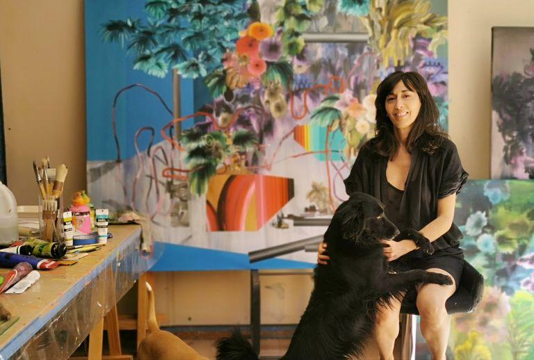 Magda Rantica, una de las artistas representadas por diderotart.mx