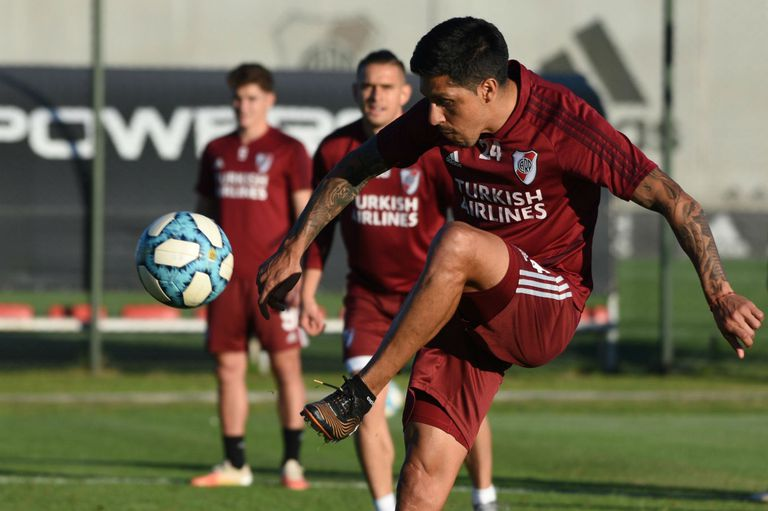 Enzo Pérez está entre algodones para el choque con Independiente de Santa Fe, de la Copa Libertadores