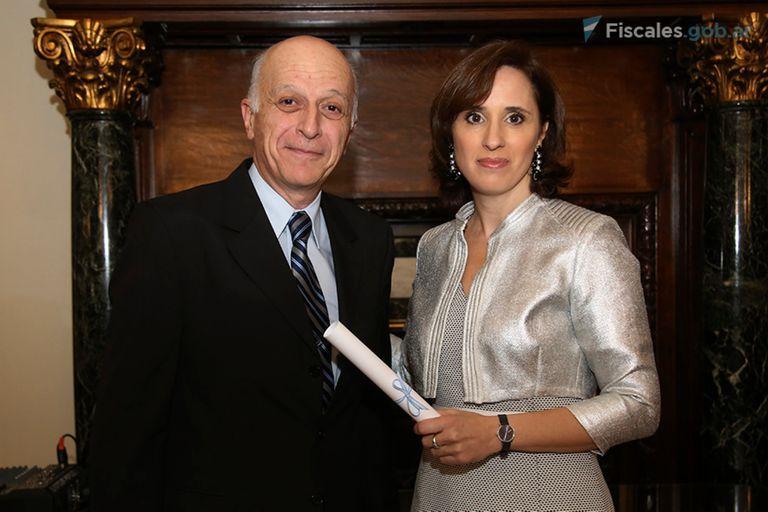 Eduardo Casal y Cecilia Incardona