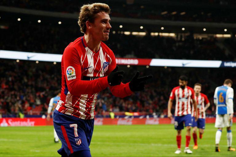 Atlético de Madrid-Leganes, Liga de España: ganó con cuatro goles de Griezmann
