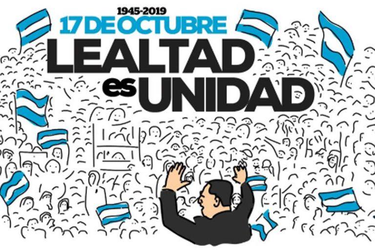 Los peronistas celebran el día de la lealtad
