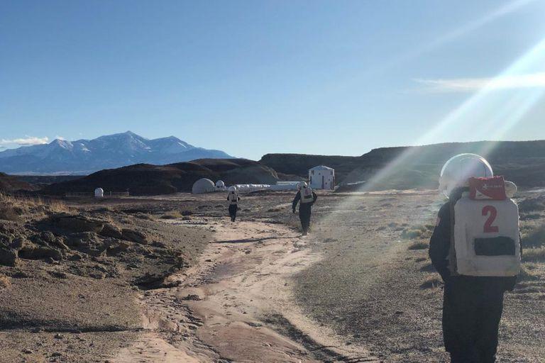 Seis mujeres estarán hasta febrero en la base más grande de simulación de Marte