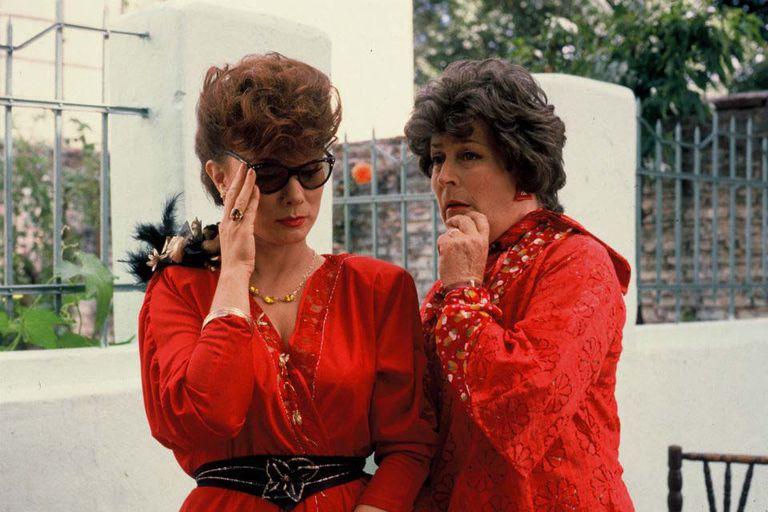 Betiana Blum (Nora) y China Zorrilla (Elvira), en una escena de la película dirigida por Doria