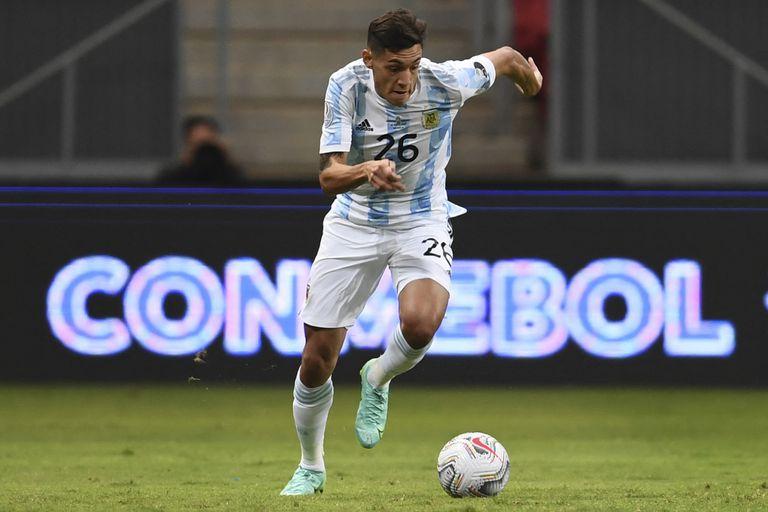 Nahuel Molina se ganó el puesto de lateral derecho en la Selección Argentina