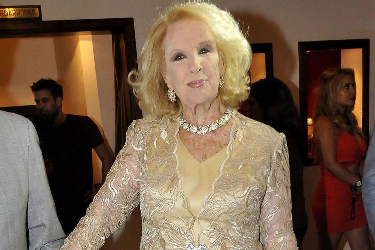 """""""No sean avaros"""": Mirtha y su pedido de donaciones en el centenario de Actores"""