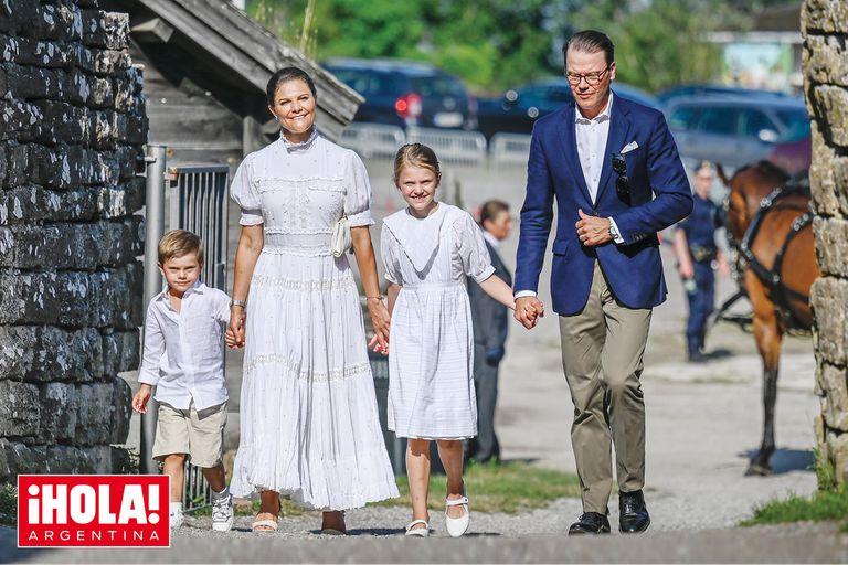 El especial motivo por el que la heredera al trono sueco reunió a toda la familia real