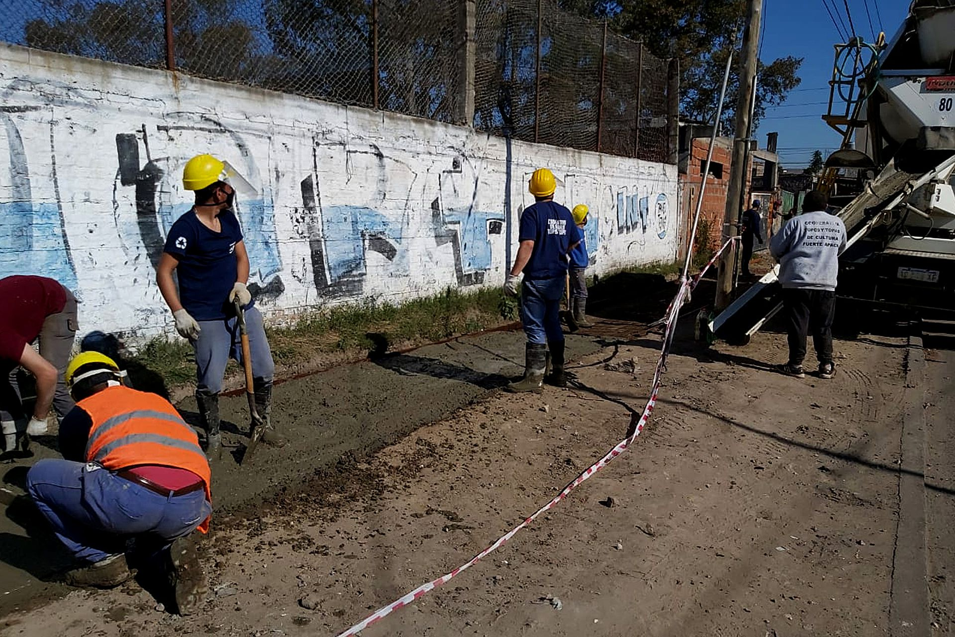 Los Topos es una agrupación de exdetenidos que busca fomentar la reinserción laboral