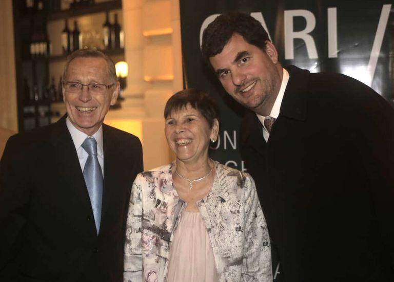 Eugenio Burzaco fue uno de los primero en llegar a la celebración por los 40 años del CARI