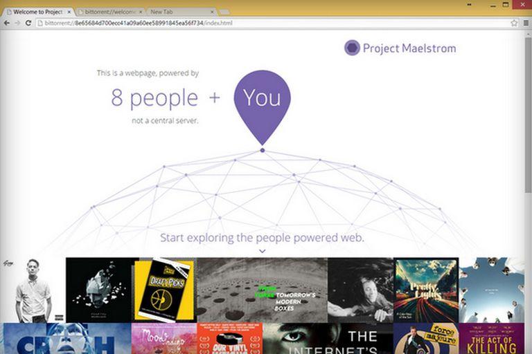El navegador de BitTorrent busca descentralizar el acceso a los sitios web al utilizar la misma tecnología empleada para la descarga de archivos bajo la modalidad P2P