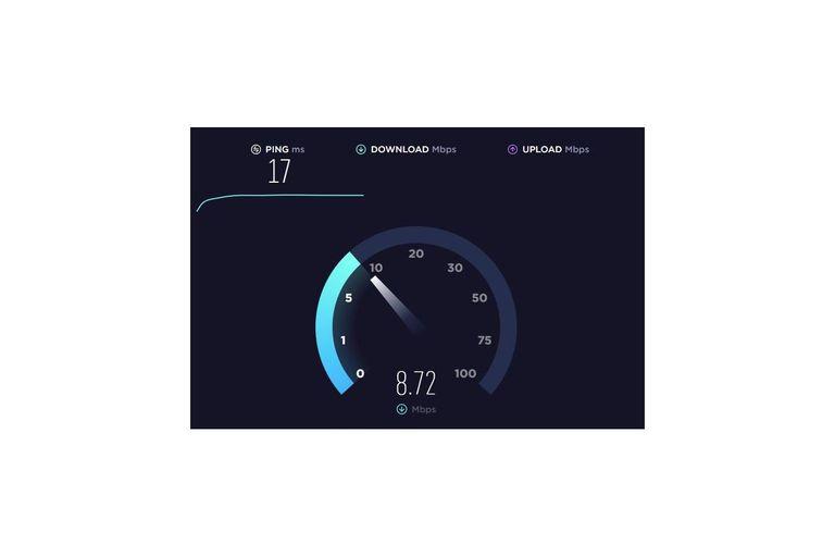 Speedtest: velocidad de bajada