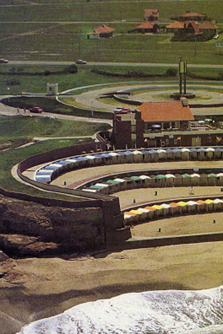 Vista aérea de las terrazas al mar de El Marquesado Country Club
