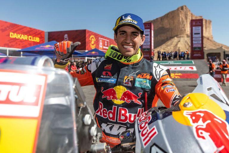 Luciano Benavidez, el argentino mejor posicionado en motos