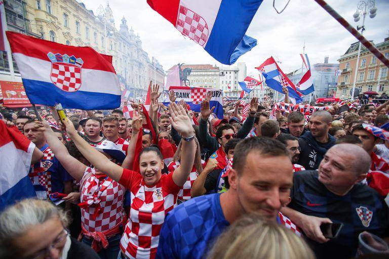 Cómo se vivió la final en Zagreb: cuando el orgullo y el amor son más fuertes