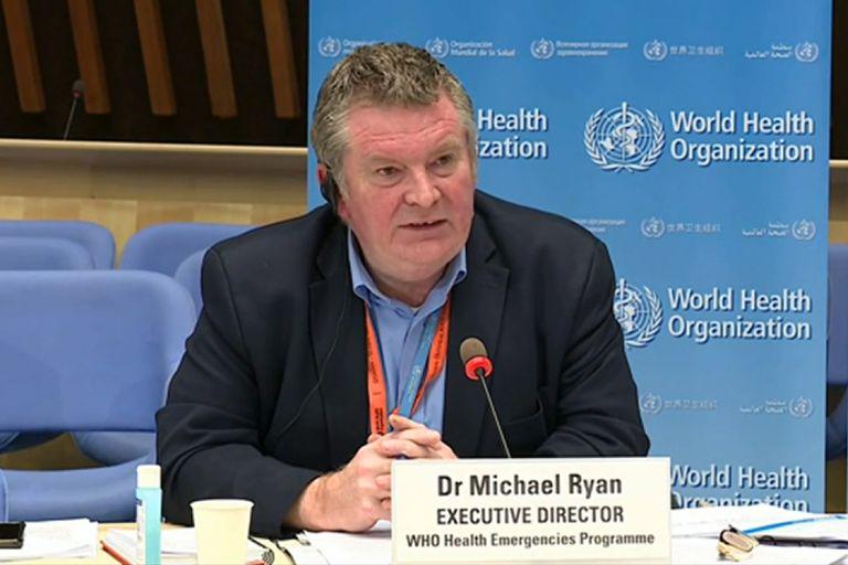 El director de programas de emergencia de la OMS, Michael Ryan