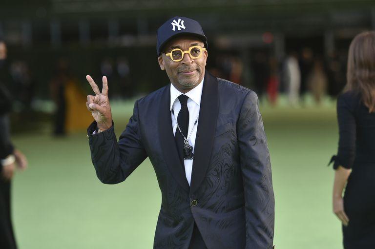El cineasta Spike Lee en la inauguración del museo: ganó el Oscar al guion adaptado por El inflitrado del KKKlan